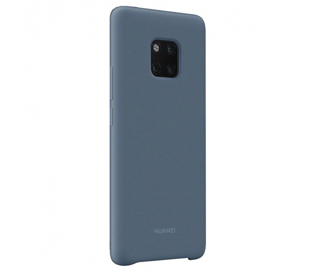 Huawei Silikonowe Plecki do Huawei Mate 20 Pro Blue  - 454203 - zdjęcie 3