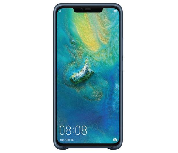 Huawei Silikonowe Plecki do Huawei Mate 20 Pro Blue  - 454203 - zdjęcie 2