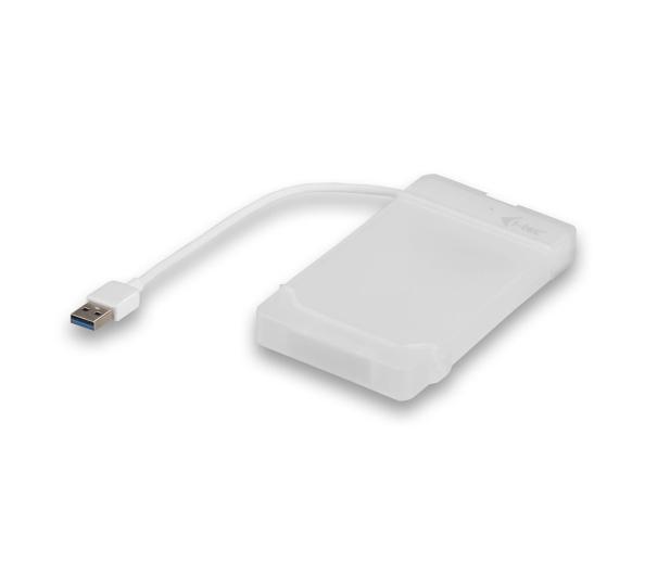 """i-tec Obudowa do dysku 2.5"""" MySafe (USB 3.0, biały) - 456355 - zdjęcie"""