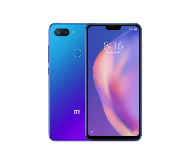 Xiaomi Mi 8 lite 4/64GB Aurora Blue  - 455475 - zdjęcie