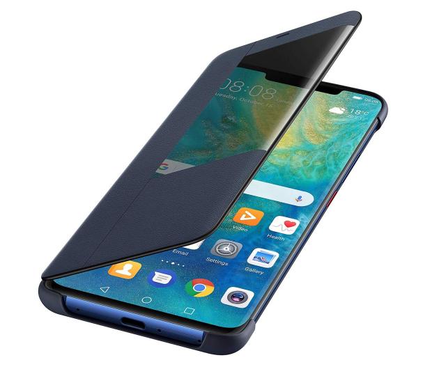 Huawei Etui z Klapką Smart do Huawei Mate 20 Pro Blue - 454206 - zdjęcie 3