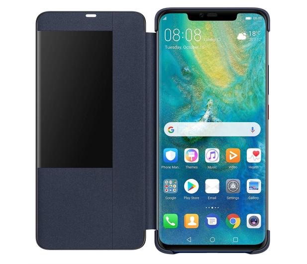 Huawei Etui z Klapką Smart do Huawei Mate 20 Pro Blue - 454206 - zdjęcie 4