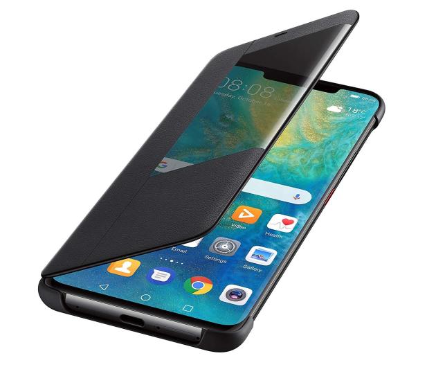 Huawei Etui z Klapką Smart do Huawei Mate 20 Pro czarny - 454205 - zdjęcie 4