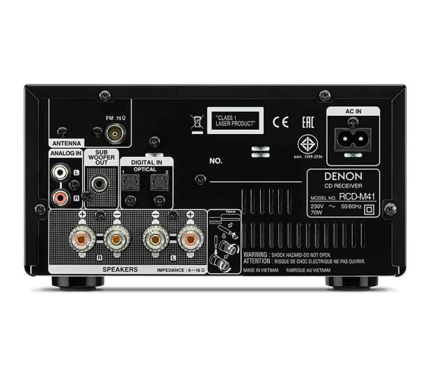Denon D-M41 czarny - 457576 - zdjęcie 5