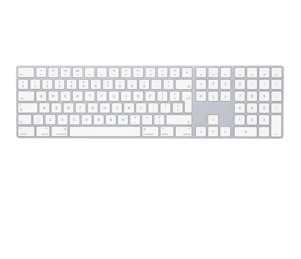 Apple Magic Keyboard z Polem Numerycznym White - 368554 - zdjęcie