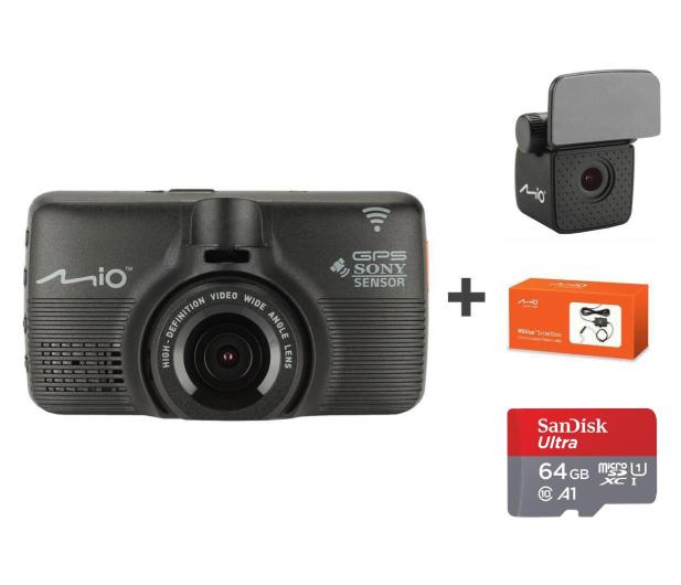 """Mio MiVue 792 Pro Dual Full HD/2,7""""/140/Wi-Fi + 64GB - 457203 - zdjęcie"""