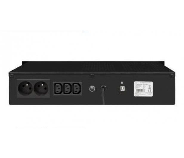 "Ever ECO Pro 1000 (1000VA/650W, AVR, CDS, 19"" 2U) - 456723 - zdjęcie 2"