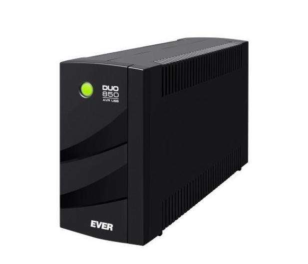 Ever DUO 850 AVR (850VA/550W, 6xIEC, USB, AVR) - 456719 - zdjęcie