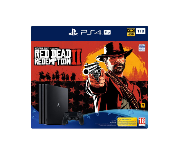 Sony Playstation 4 PRO 1TB + Red Dead Redemption 2 - 436887 - zdjęcie