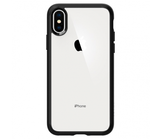 Spigen Ultra Hybrid do iPhone XS Matte Black - 451996 - zdjęcie 2