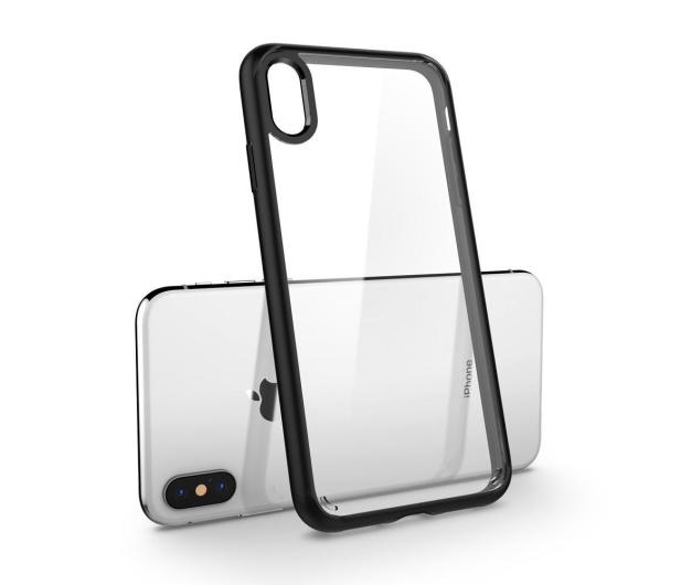 Spigen Ultra Hybrid do iPhone XS Matte Black - 451996 - zdjęcie 4