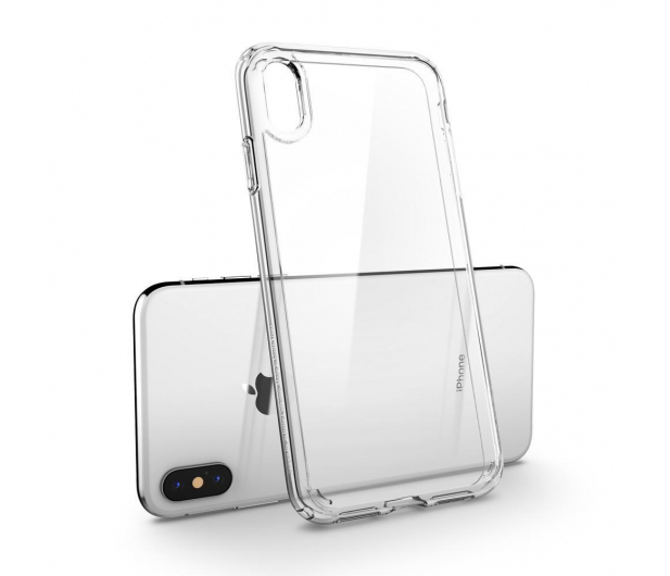 Spigen Ultra Hybrid do iPhone XS Crystal Clear - 451997 - zdjęcie 4