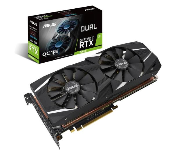ASUS GeForce RTX 2080 Ti DUAL OC 11GB GDDR6 - 445398 - zdjęcie