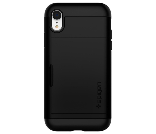 Spigen Slim Armor CS do iPhone XR Black - 452125 - zdjęcie 3