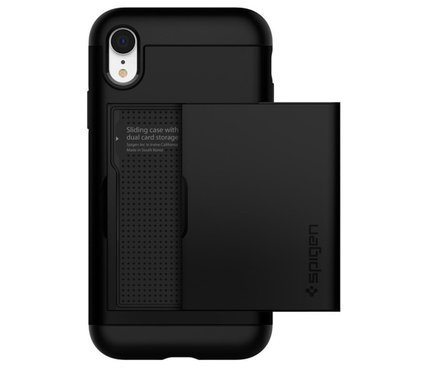 Spigen Slim Armor CS do iPhone XR Black - 452125 - zdjęcie 2