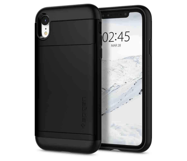 Spigen Slim Armor CS do iPhone XR Black - 452125 - zdjęcie
