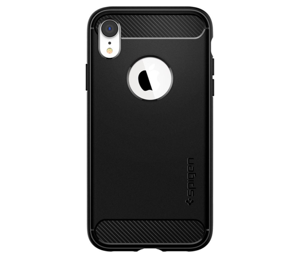 Spigen Rugged Armor do iPhone XR Matte Black - 452119 - zdjęcie 2