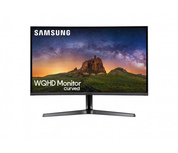 Samsung C27JG50QQUX Curved czarny  - 457277 - zdjęcie