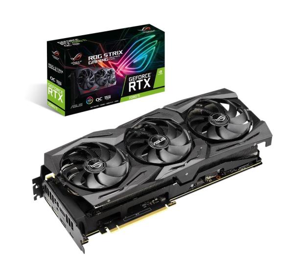 ASUS GeForce RTX 2080 Ti ROG STRIX OC 11GB GDDR6 - 457595 - zdjęcie