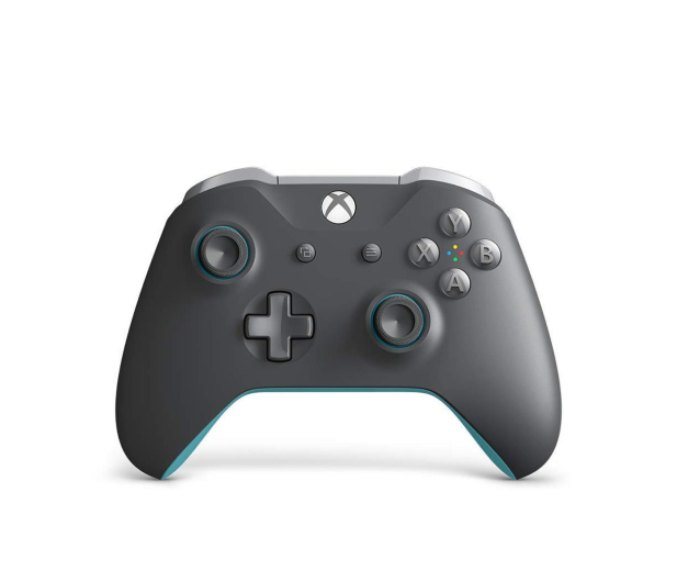 Microsoft Pad Xbox One Wireless Controller Grey/Blue - 457964 - zdjęcie