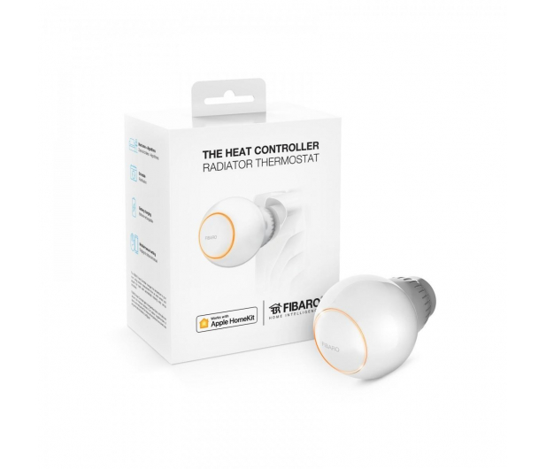Fibaro Heat Controller Termostat grzejnikowy (HomeKit)  - 458284 - zdjęcie
