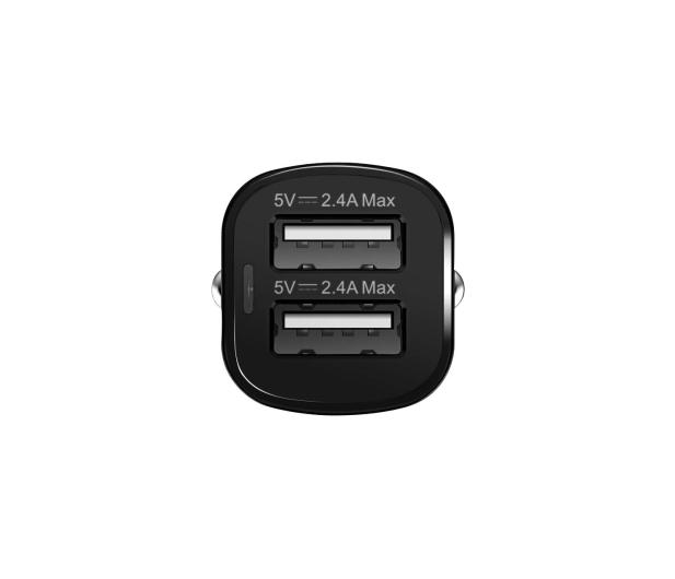 ADATA Ładowarka Samochodowa USB 2x2,4A 17W czarny - 458273 - zdjęcie 4