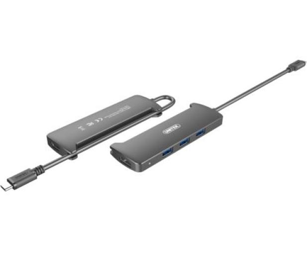 Unitek HUB USB-C 3.1 - 3 x USB 3.0 + HDMI - 458666 - zdjęcie 2