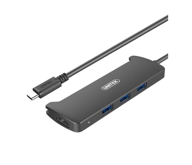 Unitek HUB USB-C 3.1 - 3 x USB 3.0 + HDMI - 458666 - zdjęcie
