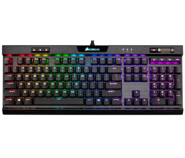 Corsair K70 Rapidfire MK.2 (Cherry MX Low Profile Speed) - 459138 - zdjęcie 2