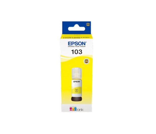 Epson 103 EcoTank Yellow 7500 str. (C13T00S44A) - 458979 - zdjęcie