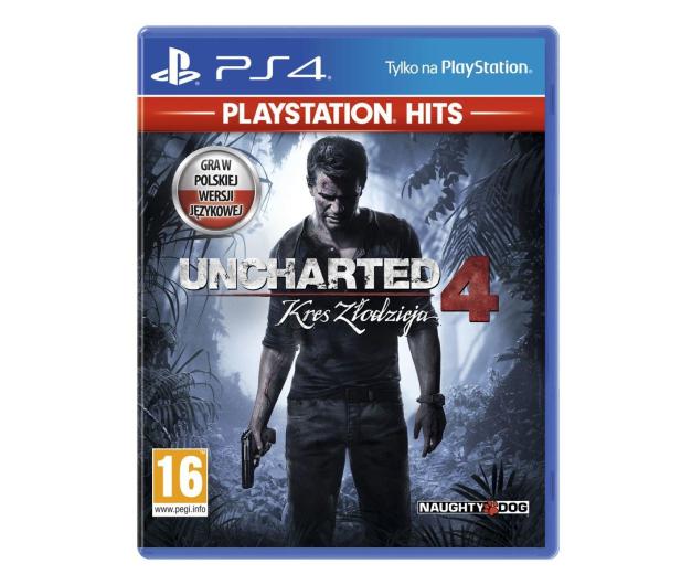 Sony UNCHARTED 4: KRES ZŁODZIEJA  - PS4 HITS - 446546 - zdjęcie