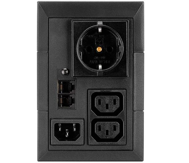 EATON 5E (650VA/360W) Schuko + 2 x IEC USB - 452321 - zdjęcie 2
