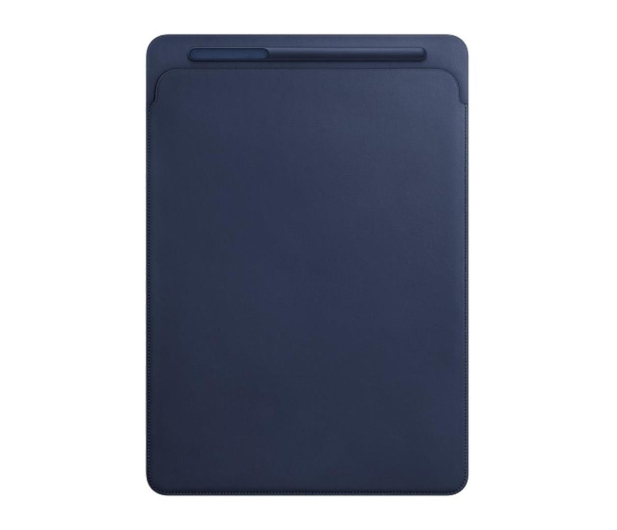 Apple Leather Sleeve do iPad Pro 12,9'' Midnight Blue - 369420 - zdjęcie