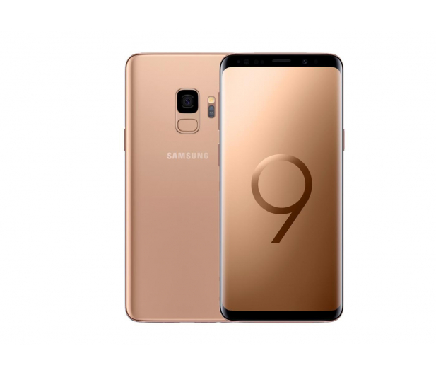 Samsung Galaxy S9 G960F Dual SIM Gold - 453308 - zdjęcie