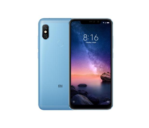 Xiaomi Redmi Note 6 PRO 4/64GB Blue - 453301 - zdjęcie