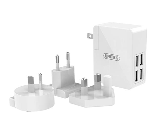 Unitek Ładowarka sieciowa 4x USB 2,4A 48 W  - 458000 - zdjęcie