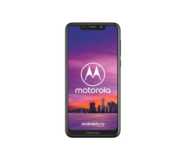 Motorola One 4/64GB Dual SIM czarny + etui - 448945 - zdjęcie 2