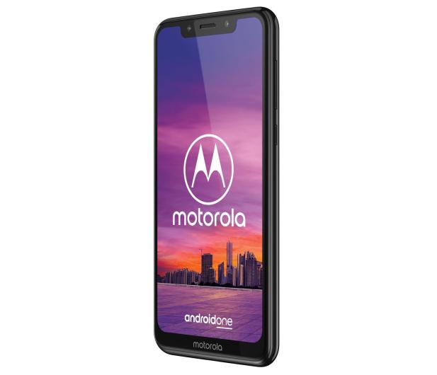 Motorola One 4/64GB Dual SIM czarny + etui + 64GB - 483108 - zdjęcie 4