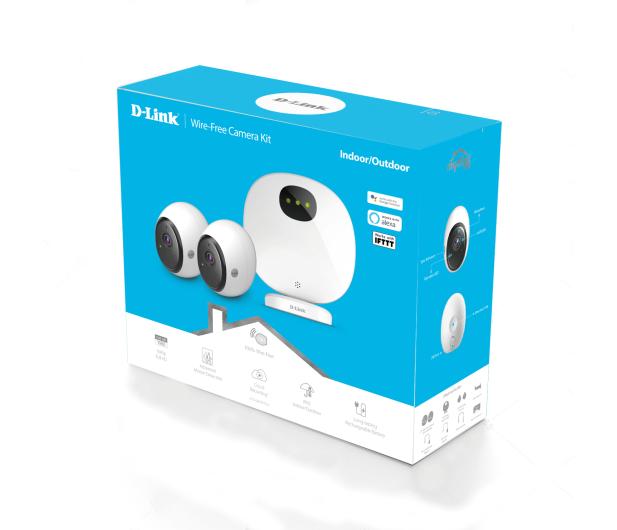 D-Link DCS-2802KT‑EU FullHD IR (2szt. + stacja alarm) - 453872 - zdjęcie 6