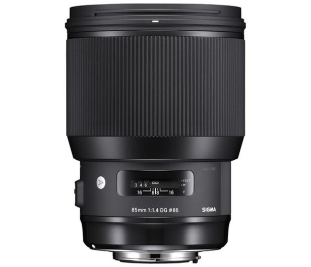 Sigma A 85mm f1.4 Art DG HSM Canon - 453715 - zdjęcie 2