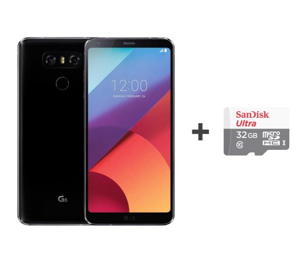LG G6 czarny + 32GB - 453995 - zdjęcie
