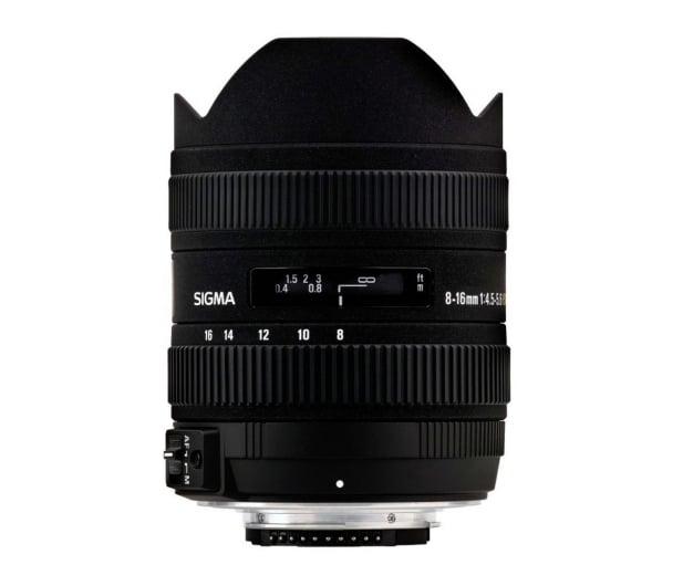 Sigma 8-16mm f4.5-5.6 DC HSM Rybie Oko Pentax - 453871 - zdjęcie