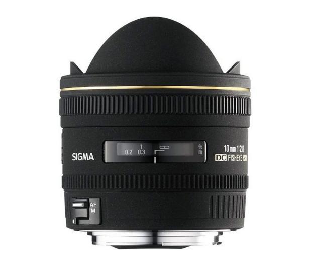 Sigma 10mm f2.8 EX DC HSM Rybie Oko Nikon - 453864 - zdjęcie