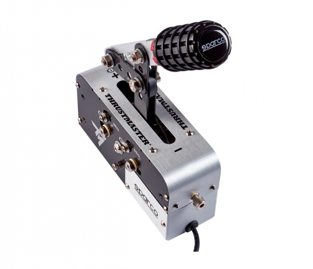 Thrustmaster TSSH SPARCO MOD+ Hamulec ręczny/Skrzynia Biegów  - 453158 - zdjęcie
