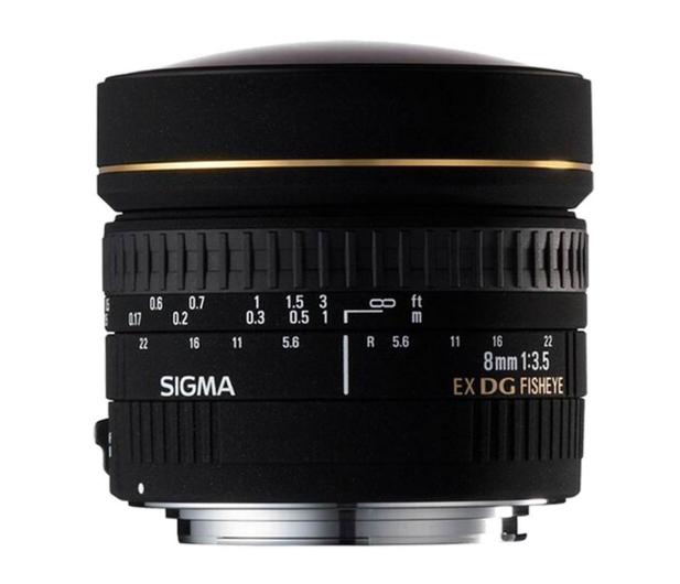 Sigma 8mm f/3.5 DG EX rybie oko Nikon  - 453615 - zdjęcie