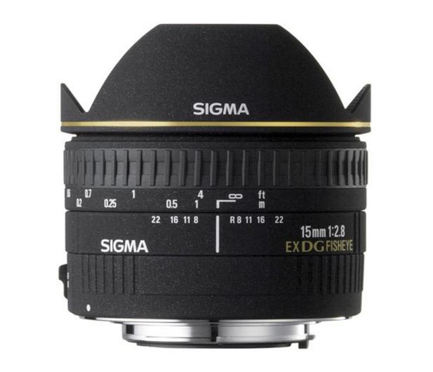 Sigma 15mm f/2.8 DG EX rybie oko Canon - 453617 - zdjęcie