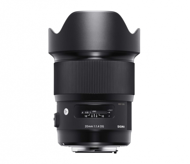 Sigma A 20mm f/1.4 DG HSM Canon - 453626 - zdjęcie