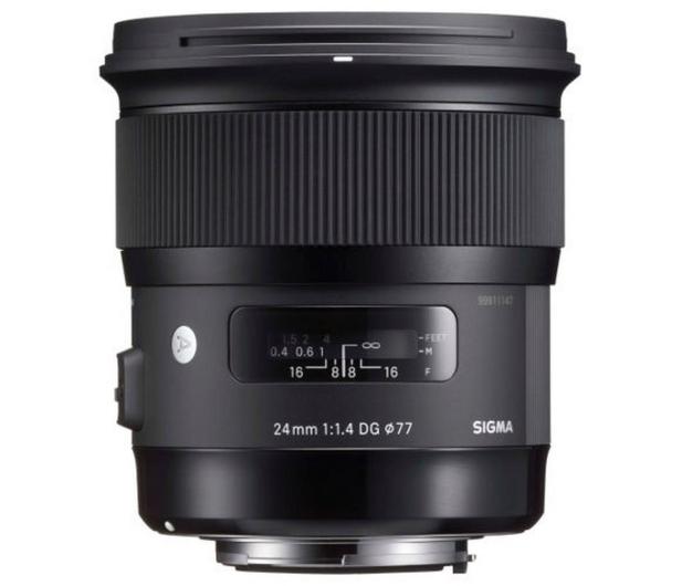 Sigma A 24mm f/1.4 DG HSM Canon - 453635 - zdjęcie 2