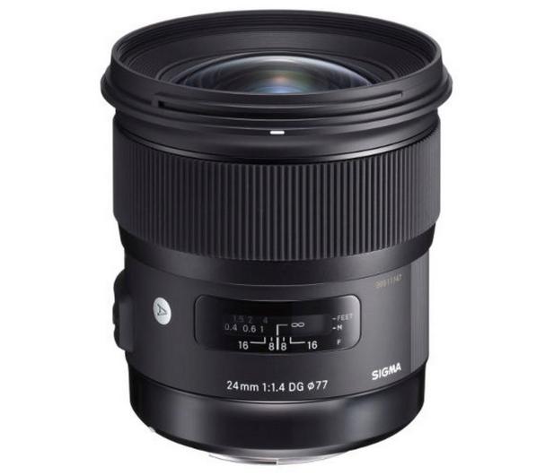 Sigma A 24mm f/1.4 DG HSM Canon - 453635 - zdjęcie 3