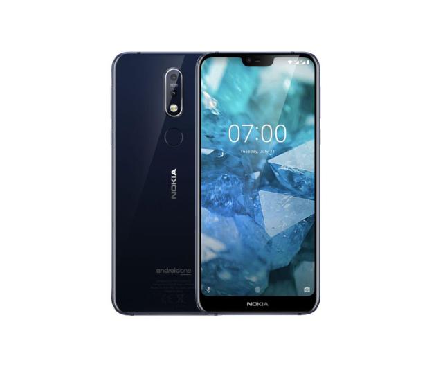 Nokia 7.1 Dual SIM niebieski - 454746 - zdjęcie